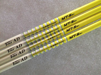 Wholesale golf shafts yellow Tour AD MT R1 S S graphite shaft golf clubs driver woods shafts