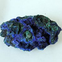 Wholesale Natural rock mineral crystal mineral azurite specimen g