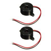 Wholesale New Black DB Alarm High decibel V V Electronic Buzzer Continuous Beep Mounting Hole