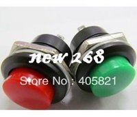 Cheap Push Button Switch R13-507,16MM,momentary push switch,button color red,green,black