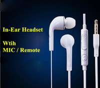 For Samsung galaxy note 2 - In Ear Stereo Earphone Headphones Headset with Mic and Remote Volume Control for Samsung Galaxy S3 S4 S5 note note