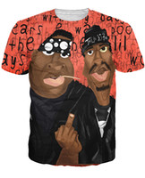 Wholesale 2015 New Style pac Tupac Women Men T shirt Unisex Tee Couples T shirt D Fun Digital Print Tops Casual shirt Outdoor Shirts cotton