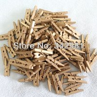 baby clothespins - 100pcs GOLD MINI CLOTHES PEGS CLOTHESPINS BOYS BABY SHOWER DECORATION CHRISTMAS TREE DECORATION WEDDING BANNER CLIP