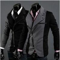 Wholesale Hot Fashion New Brand Design Mens Blazer Jacket Coats Casual Slim Fit Stylish Blazers jacket jaqueta esport M XXL Chaqueta Outdoor Wear