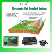 Wholesale 1 to Electronic Smart Dog In ground Pet Fencing System dog fence system dog trainning system
