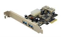Wholesale PCI Express USB3 ports PCI E Controller Card Gbps Port USB USB3 HUB support W8