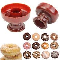 bakery desserts - New Donut Maker Cutter Mold Fondant Cake Bread Desserts Bakery Mould Tool DIY