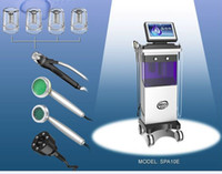 Wholesale 2015 New in Microdermabrasion Hydro Facial PDT LED Skin Care Water Dermabrasion RF Cavitation Cacuum Fat Reduction Photon Machine