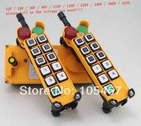 Wholesale 5 Motion Speed transmitters Hoist Crane Truck Radio Remote Control System with Emergency Stop Tell us the voltage you need order lt no t