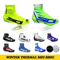 bike cover - Winter Thermal SIDI Brand Cycling Shoe Cover Full Zip MTB Bike Shoe Cover Pro Road Racing Bicycle Shoe Covers For Man Women
