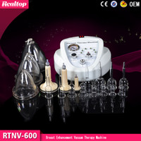 Wholesale Breast care Vacuum Therapy Massage Therapy Breast Enhancement Bust Enhancer Massager Beauty Machine for home use