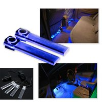auto special offers - 2016 Special Offer Rushed Xenon Automobiles Parking In v Blue Or Multicolor Car Auto Interior Led Atmosphere Lights Decoration Lamp