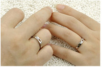 Wholesale Cheap Couple Rings Adjustable Rings Lover s Rings Silver Plated Ring Open Couple Rings New Design Fashion Rings Random Send