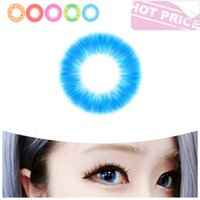 Wholesale Halloween colored contact lens Crazy lens for cosplay Cat Eye colors in stock Global