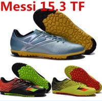 Wholesale 2015 women and mens soccer shoes Messi TF football shoes football boots sneakers athletic soccer cleats high quality with size