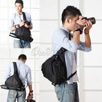 Wholesale DSLR SLR Digital Sling Camera waterproof Case Shoulder Carry Bag Backpack For NIKON CANON SONY SYB