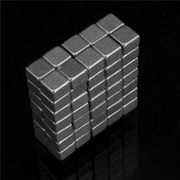 Wholesale 100pcs Strong mini block x4x3mm N50 Rare Earth NdFeB Cuboid neodymium Magnet
