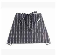work apron - Magazine style Simple fashion chef apron Restaurant the hotel clerk beauty salon bust work apron cmX40cm