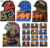 Wholesale New D Animal Active Outdoor Fox Bicycle Cycling KTM Motorcycle Masks Ski Hood Hat Veil Balaclava UV Protect Full Face Mask