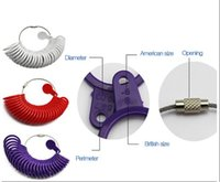 Wholesale Ring Sizer Measuring Sizes Measure Gauge Finger Gauge jewelry tools and equipment tools for jewelry