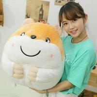 achat en gros de grand hamster-Gros jouet hamster en peluche jouets en peluche jaune joli jouet hamster jaune environ 50cm