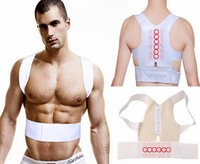 Cheap High quality Adjustable Magnetic Therapy Posture Support Corrector Correction Body Back Pain Lumbar Belt Shoulder Brace Shoulder support