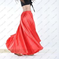 Wholesale Women s Belly Dance Costume Multi Colors Satin Dress Long Gypsy Skirts Colors Available