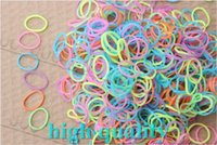 Cheap Glow in the Dark rubber bands DIY Bracelet Loom Refills Bands 1000bags lot silicone Bands WHOLESALE