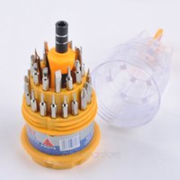 Wholesale 31 in Screwdriver Set Portable Replaceable Straight Cross Screwdrivers Repair Tools Accessories