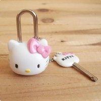 Wholesale 100PCS cute little locks padlock luggage mini cartoon locks high quality