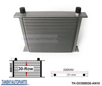 Wholesale Tansky Universal Row Engine Transmission AN Oil Cooler Have in stock TK OC000030 AN10