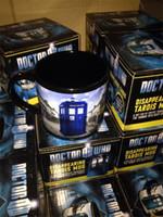 doctor who mug disappearing tardis mug awesome coffee mugs - doctor who disappearing tardis mug with box awesome heat sensitive police coffee cup doctor who disappeared color change mug DHL shipping