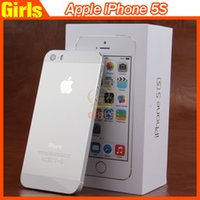 Wholesale Refurbished Unlocked apple iphone s phone GB ROM IOS colors White Black Gold Cell Phones