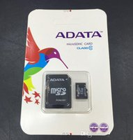 Wholesale 100 Real Capacity ADATA GB GB GB GB GB Micro SD TF Memory SDHC Card with Retail Packaging
