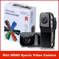 Wholesale Mini DVR Camcorder Sport Video Recorder Digital Spy Hidden Camera Web Cam MD80