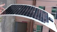 Wholesale Half of the flexible solar panels w black and white super light thin flexible to the v battery charging