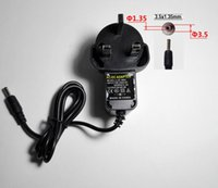 Wholesale 3 MM Plug AC V To DC V2A Switching Power Supply Laptop Charger TV Box Router LED Power Adapter BS Plug