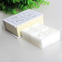 Wholesale Hot Sale New Book of Love Scented Candle Letter set Wedding Party Favors Unique Valentines Love Gifts