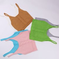 Cheap South Korea's new spring sweater dresses short jumper vest loose knit sleeveless vest a sling