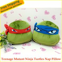 baby cool seat - cm Soft Plush TMNT Nap Pillow Car Waist Pillow Nice gift for kids baby factory price