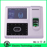 Wholesale Good quality TCP IP USB WIFI RS485 face amp fingerprint amp ID card time attendance and access control Iface502