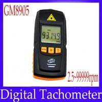 Wholesale Digital laser tachometer meter GM8905 measure range rpm