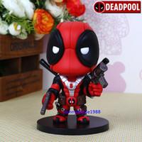Wholesale Deadpool X Men Superhero Wade Wilson Weapon Statue Action Figure Avengers Cute cm quot