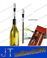 Wholesale Hot Sell Stainless Steel Wine Cooling stick Corkcicle White Red Wine Chiller Replace the Ice Bucke MYY14239