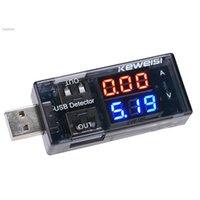 Wholesale USB Charger Doctor Current Voltage Charging Detector Mobile Power Current and Voltmeter Ammeter Voltage USB Charger Tester