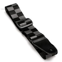Wholesale New Fashion Adjustable Acoustic Electric Guitar Straps Belt Nylon Three Colors Leather Ends For Guitars
