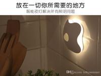 tree face - Four Leaf Clover Shape Auto Motion Human Body Sensor Induction Lamp Indoor Bedroom PVC Warm Night Light