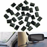 Wholesale New tool for Car Wire Cord Clip Cable Holder Tie Clips Fixer Organizer Drop Adhesive Clamp