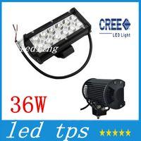 Wholesale LED Waterproof Aluminium Inch W Cree LED Work Light Bar LM Spot Beam ALL Cars x4 Off Road Lamp hours Life