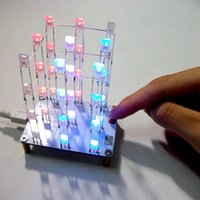 Wholesale DIY Touch x3x4 Color LED Light Cube Kit